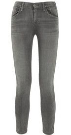 GoldsignVirtual cropped high-rise skinny jeans