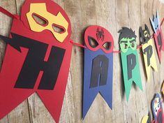 Superhero banner/Marvel banner/Marvel comics/DC comics/Avengers/Justice League/Superhero birthday/Superhero birthday banner/Superhero party