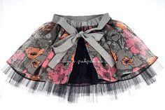 Kids twirling pettiskirt inspired birthday clothing от PuhPah, €45.00