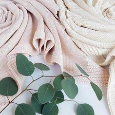 #powder pink #cotton blanket