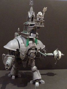 The 'Lost Knight of New Caliban' - Warhammer 40,000 Imperial Knight by Edward Eccles.