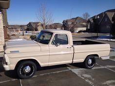 My 1967 Ford F100 Bump Custom Ford Trucks, Old Ford Trucks, Pickup Trucks, Hot Rod Trucks, Mini Trucks, Cool Trucks, Classic Trucks, Classic Cars, F100 Truck