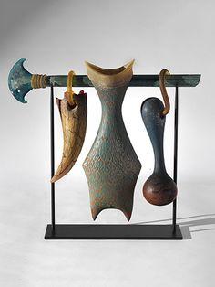 """19. William Morris Suspended Artifact Series, 1996 17 x 18 x 5.5"""" Sold"""