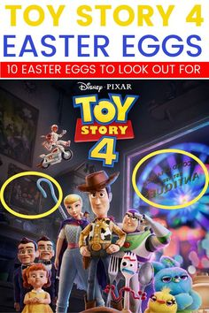 If you& wondering what Easter Eggs you& going to find in Toy Story 4 – I& got just a few for you to look for. Plus, there are some fun details for you to pay attention to. Disney Hotels, Disney Vacations, Pixar Movies, Disney Movies, Disney Easter Eggs, Plus Size Disney, Disney Tips, Disney Nerd, New Toy Story