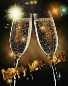 ☄ Happy New Year GiF☄ - neujahr dekor Happy New Year Animation, Happy New Year 2015, Happy New Year Quotes, Happy New Year Images, New Year 2017, Quotes About New Year, Merry Christmas And Happy New Year, Year 2016, Happy New Year Signs