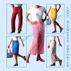 Butterick B4194 Womens Capris Shorts Mini Maxi by ladydiamond46