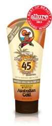 SPF 45 Sheer Coverage Faces with Self Tanner $10