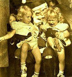 ~ 34 Creepy Santas ~ Sitting on Scary Santa's Lap ~
