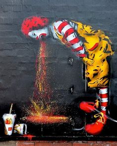 ❌Ronald isn't Feeling so Good❌ ❌Must Be the Food Ronald❌ #actor #artist #art #writer #photography #famous #insta #pic #funny #picoftheday #entertainment #instagay #gay #fashion #miami #makeup #love #friends #instafamous #tv #magazine #blogger #producer #youtube #wsvn #food #Instagram #instagood #hollywood #fashionblogger http://tipsrazzi.com/ipost/1511801966979494042/?code=BT6_-EMjLCa