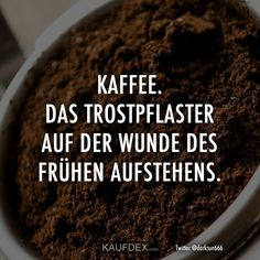 The consolation on the wound of getting up early - Lustige - Zitate - Kaffee Birthday Celebration Quotes, Celebration Chocolate, Coffee Facts, Coffee Quotes, Coffee Love, Coffee Break, Oils For Eczema, Celebration Background