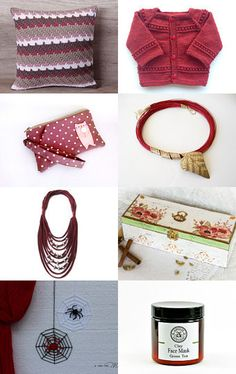 Burgundy red autumn by Elena on Etsy--Pinned with TreasuryPin.com