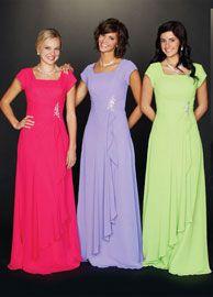 Modest Prom Dresses | Trina
