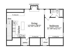 Garage Studio Apartment Plans