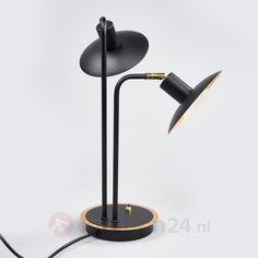 2-lichts led-tafellamp Andrej | Lampen24.nl