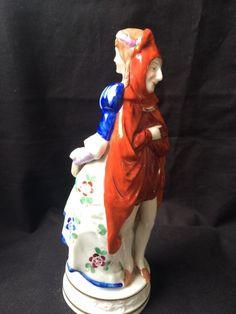 antique porcelain memphisto figurine royal vienna . double face  Very Rare  #royalvienna