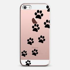 Cats Paws - Transparent - iPhone SE case by Nicklas Gustafsson | @casetify