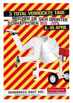 Gerngross Frühjahrskampagne Kampagne, Werbung und Frühjahr