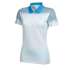 Women's Chevron Fade Polo Golf Shirt | PUMA Golf