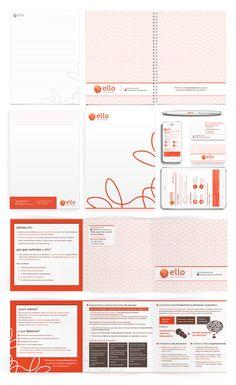Aplicações de Identidade Visual | Ello by Carlos Bocai, via Behance