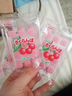A traditional Japanese treat, you eat them with the enclosed toothpick. Japanese Treats, Japanese Candy, Japanese Food, Traditional Japanese, Cute Snacks, Cute Desserts, Snacks Japonais, 17 Kpop, Asian Snacks