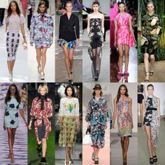 Fancy Floral - 7 popular style in spring summer fashion trends 2014
