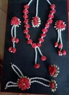 To get one for yourself or for your friends and relatives for their wedding kindly contact 8779268166 . Flower Jewellery For Haldi, Indian Wedding Jewelry, Bridal Jewelry, Flower Jewelry, Gota Patti Jewellery, Thread Bangles, Flower Ornaments, Jewelry Patterns, Flower Crafts