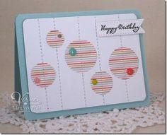 Happy Birthday by Maureen Plut using Big Wish #vervestamps