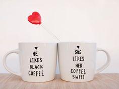 Custom couple mugs