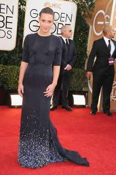 Adèle Exarchopoulos in Miu Miu at the Golden Globes