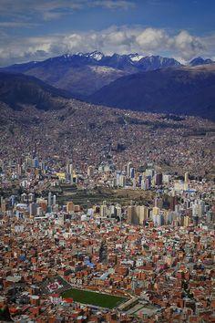 """El Alto View 2"" ~ La Paz, Bolivia © 2015 Skip Hunt skiphuntphoto.com + kaleidoscopeofcolor.com"