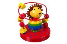 The colourful Wooden Lion Bead Frame makes an excellent gift for any young child. Kids are sure to enjoy sliding the beads along the frame which surrounds a vibrant wooden lion. Baby Toys, Kids Toys, Traditional Toys, Online Gift Shop, Toddler Gifts, Beautiful Gifts, Wood Toys, Lion, Orange