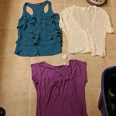 Size xs top bundle Elle loft new York and co LOFT Tops Blouses