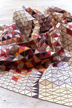 Elysa Strozyk. Textile wood