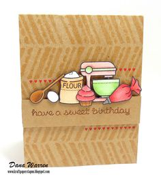 Lawn Fawn - Baked with Love _ Sweet Birthday by Dana via Flickr - Photo Sharing!