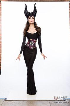 Maleficent costume. Wait.