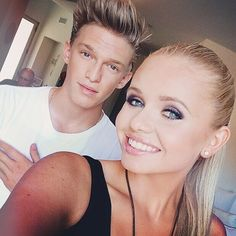 Alli Simpson & Cody Simpson. The girl in it I actually got to meet her somwhere so happy. I also got to see Cody in concert when he went on tour with Big Time Rush.- - Lydia