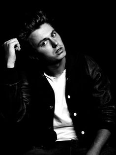 Kenny Wormald.. again.. he was in character the first.. this is just him.. black and white makes things soo attractive♥