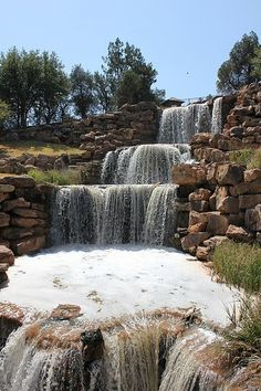 The Falls!   Lucy Park in Wichita Falls, Texas.  Photo by TexasExplorer98 via Flickr.