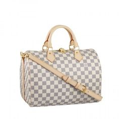 07e1daf8c047a LV Speedy Bandouliere 30 Damier Azur N41001 Louis Vuitton Online
