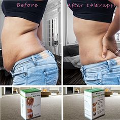 Before and after 14 wraps with our Brazilian wrap! #fitness #wraps #brazilianslimmingtea #detox #health #getfit #workhard #motivational #before #after #workouts #getlean #weight #loss