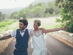 Anaëlle et Alex, un mariage bohème chic rempli d'idées très originales !