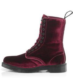 Loved my Dr Martin Burgandy velvet boots! I hope I still have them.