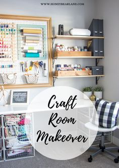 Craft Room Makeover - Honeybear Lane