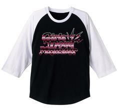 ガルデモ ラグランTシャツ BLACK×WHITE L [Angel Beats!]