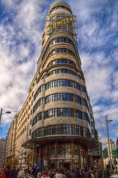 Edificio de Callao en la Gran Vía.