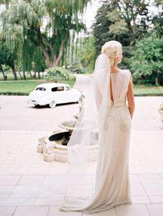 Jenny Packham wedding dress  Image by Britt Chudleigh