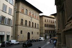 Palazzo Antinori. The Antinori Family were winemakers and winesellers before the time Leonardo da Vinci and Michelangelo lived and still make excellent wine.
