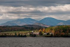 This is heaven: Essex, NY, between the High Peaks of the Adirondacks and Lake Champlain