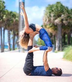 Acro Yoga Inspiration (@bananablondie108 & @murdoc305)