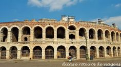 Roteiro de 1 dia em Verona na Itália - ajudando seu planejamento com sugestões de o que fazer, onde ficar, onde e o que comer.